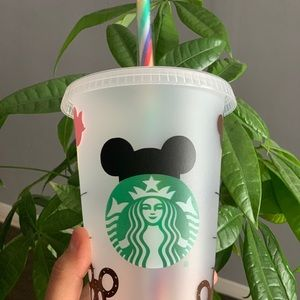 Disney snacks reusable cold cup